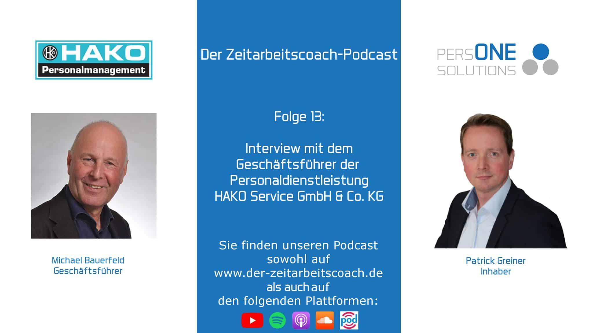 Interview mit Michael Bauerfeld - HAKO Service GmbH u. Co. KG |