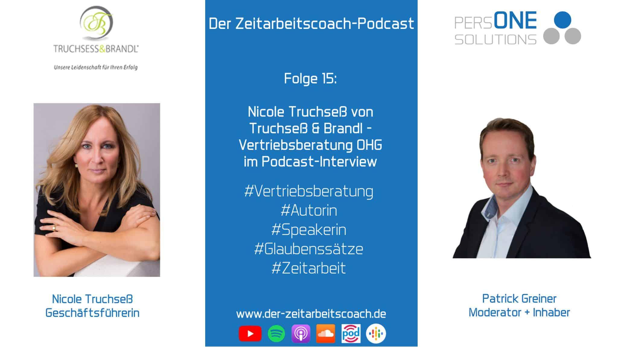 Nicole Truchseß von Truchseß und Brandl Vertriebsberatung OHG