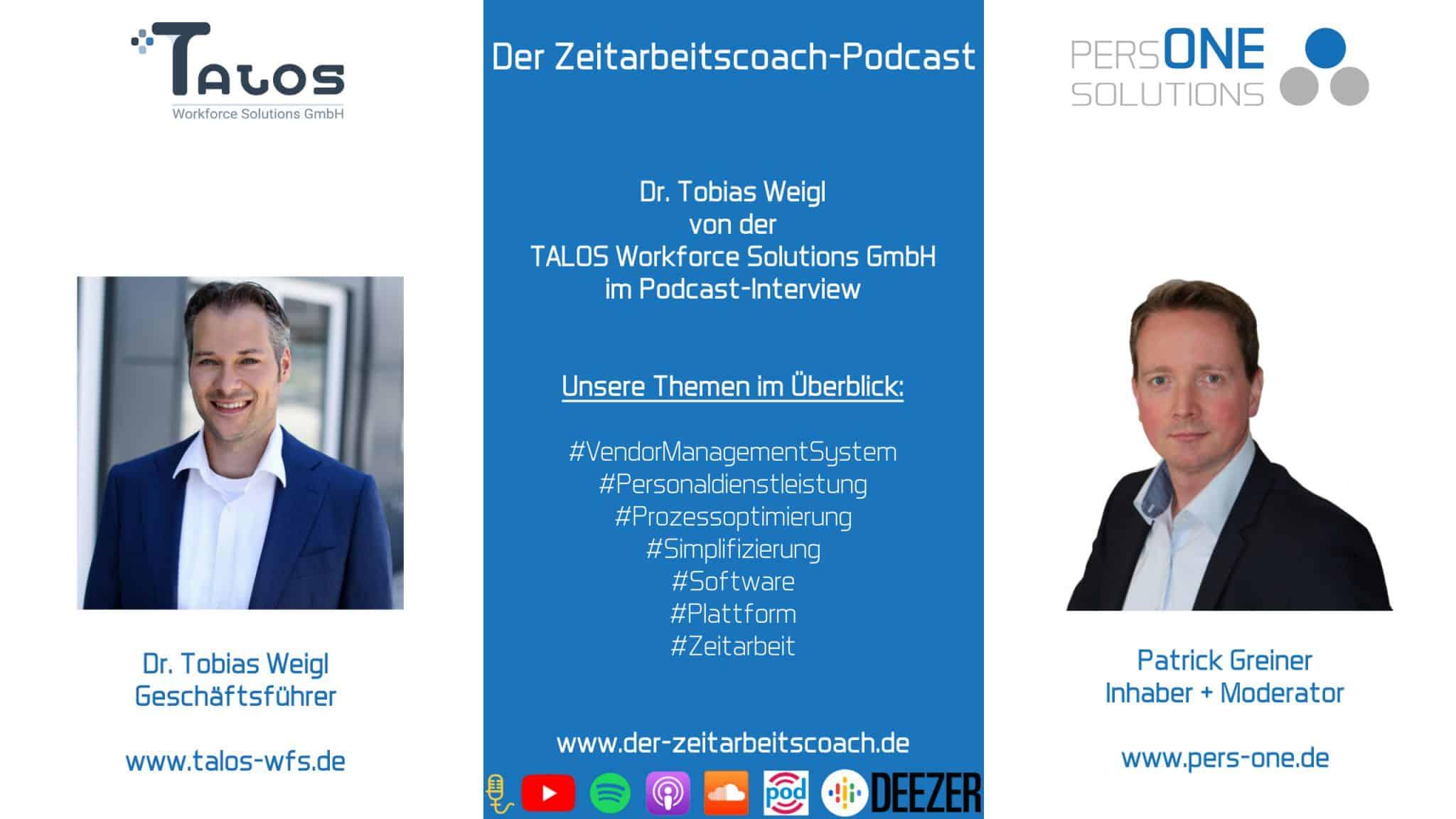 Dr. Tobias Weigl von Talos