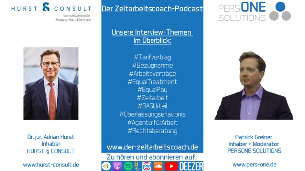 Dr. Hurst, Adrian_Podcast YT 2Grafik-Interview_Zeitarbeitscoach-Podcast