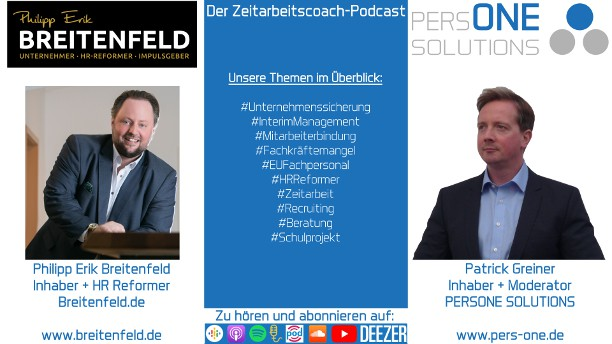 Breitenfeld_Philipp Erik_Podcast YT-2 Grafik-Interview_Zeitarbeitscoach-Podcast