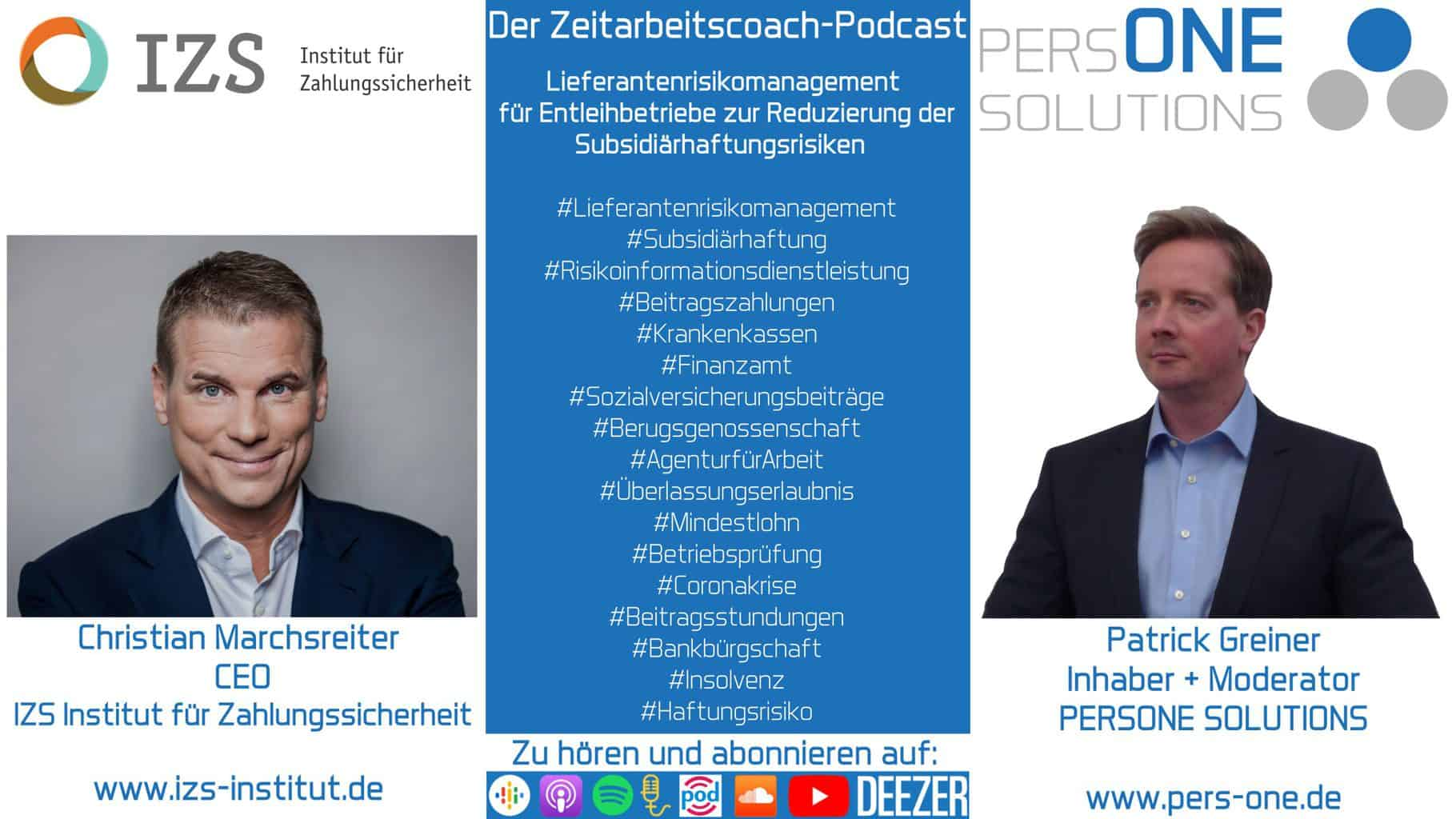 Marchsreiter, Carsten_IZS_Podcast YT2 Grafik-Interview_Zeitarbeitscoach-Podcast
