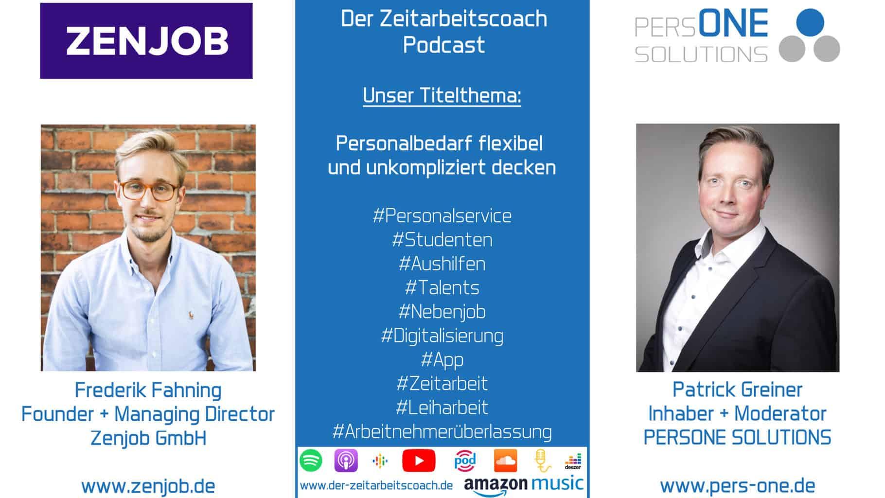 Fahning, Frederik_Zenjob_Podcast SM Grafik-Interview_Zeitarbeitscoach-Podcast