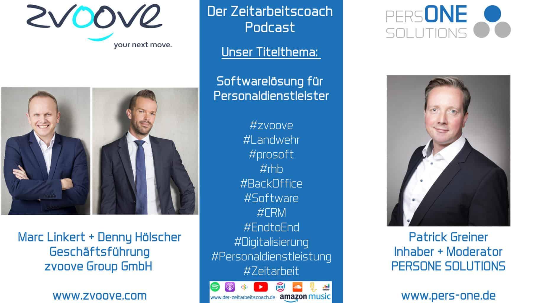 zvoove_SM Podcast Grafik-Interview_Zeitarbeitscoach Podcast