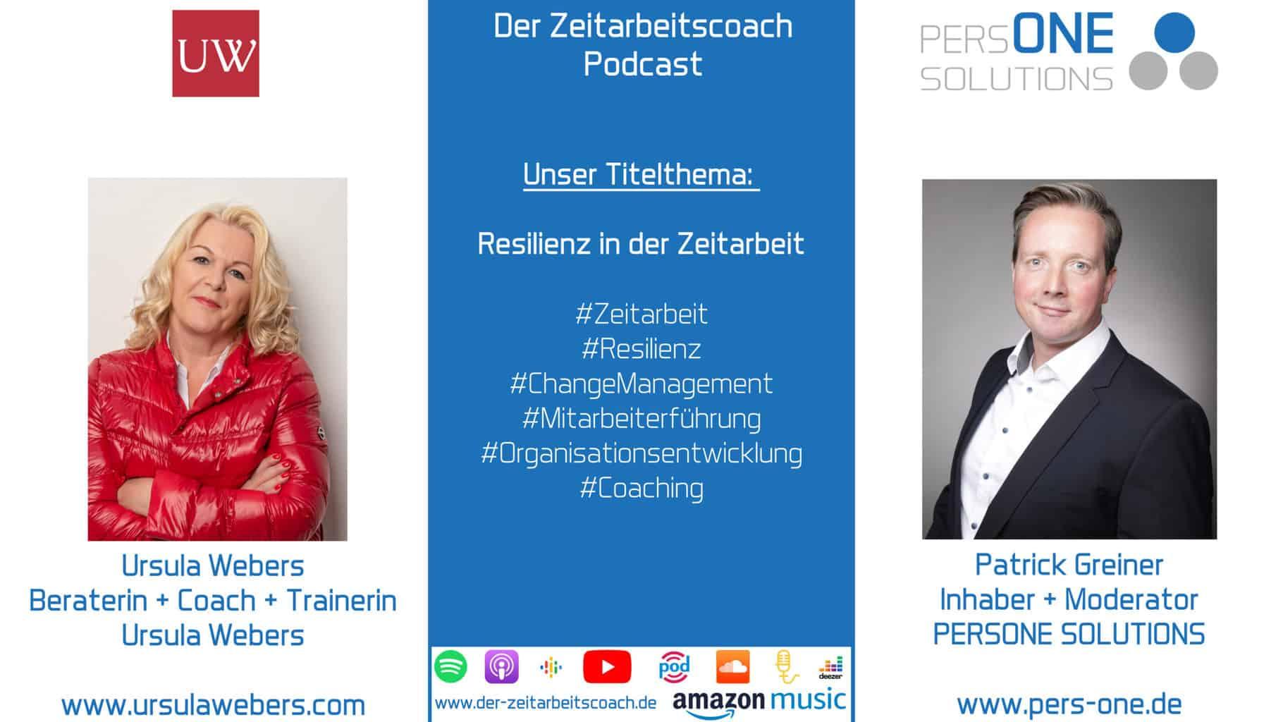 Webers, Ursula_Podcast YT-SM Grafik_Zeitarbeitscoach Podcast