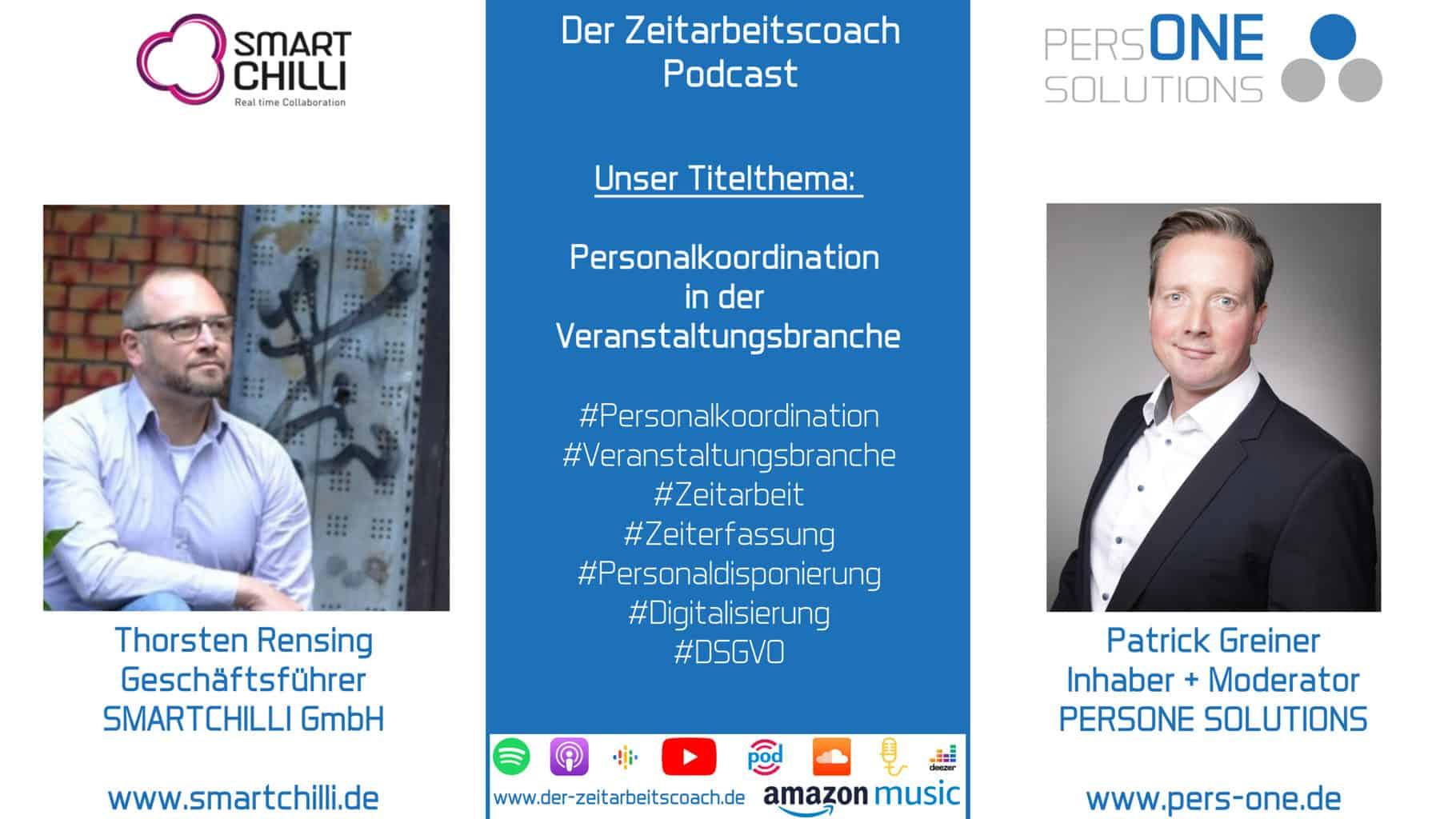 Rensing, Thorsten_SMARTCHILLI_Podcast SM Grafik_Zeitarbeitscoach Podcast