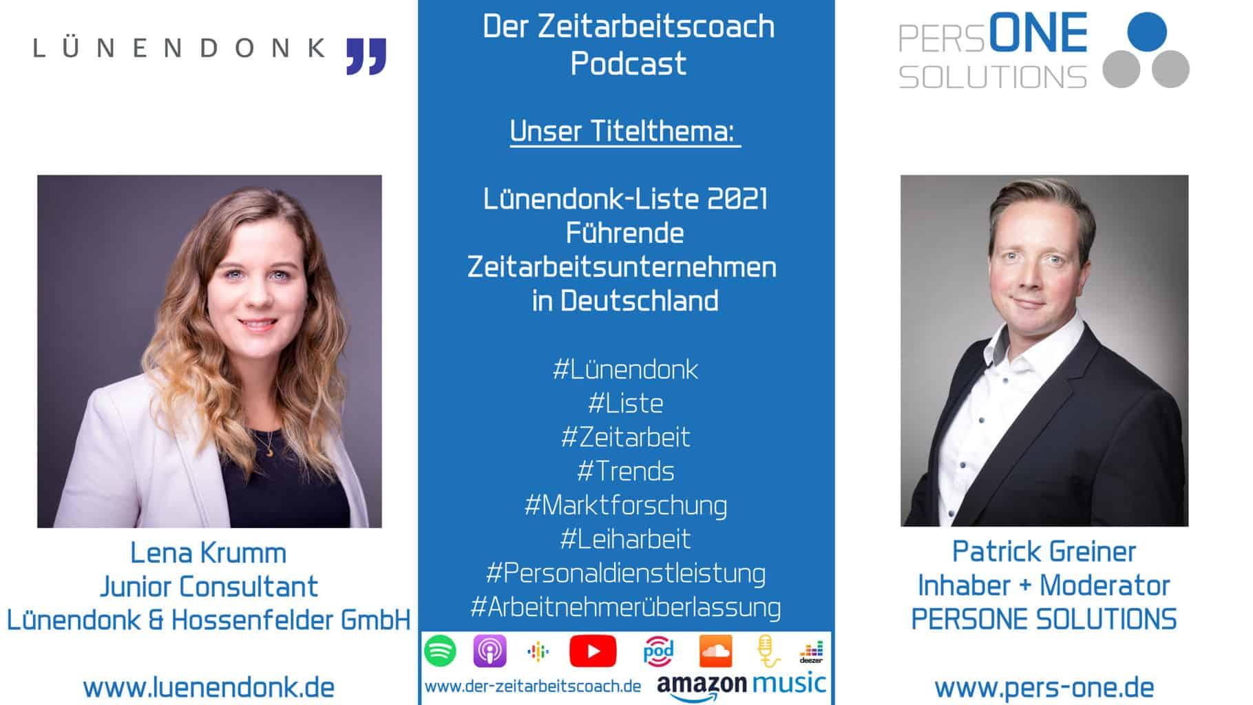 Lünendonk_Podcast SM Grafik_Zeitarbeitscoach Podcast