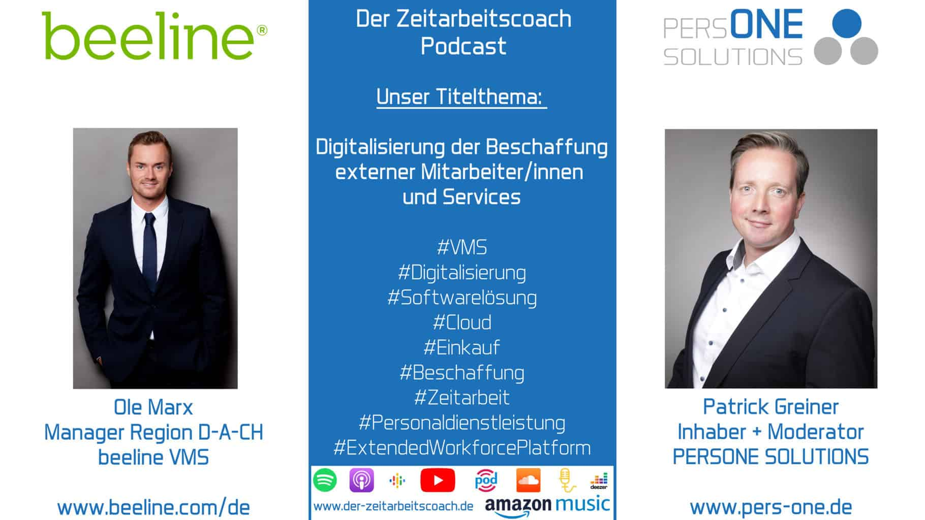 Marx, Ole_beeline_Podcast YT Grafik_Zeitarbeitscoach Podcast