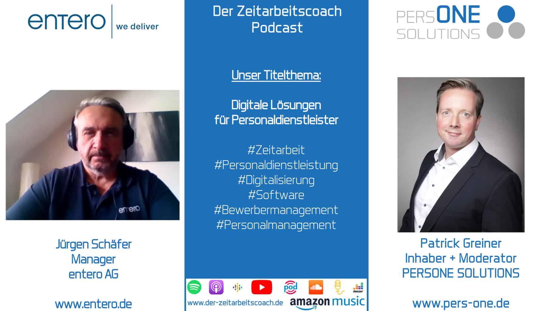 Schäfer, Jürgen, entero AG_YT Grafik_Zeitarbeitscoach Podcast