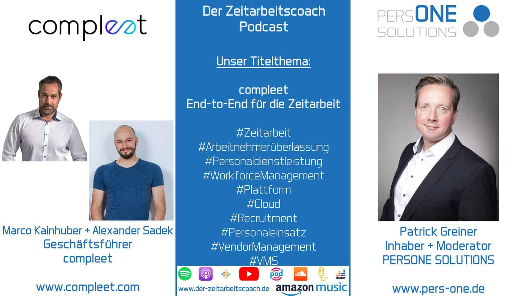 compleet_Podcast SM Grafik_Zeitarbeitscoach Podcast
